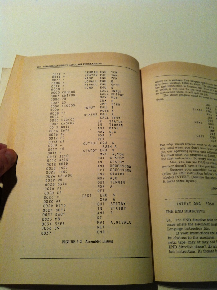 Introduction to 8080/8085 assembly language programming